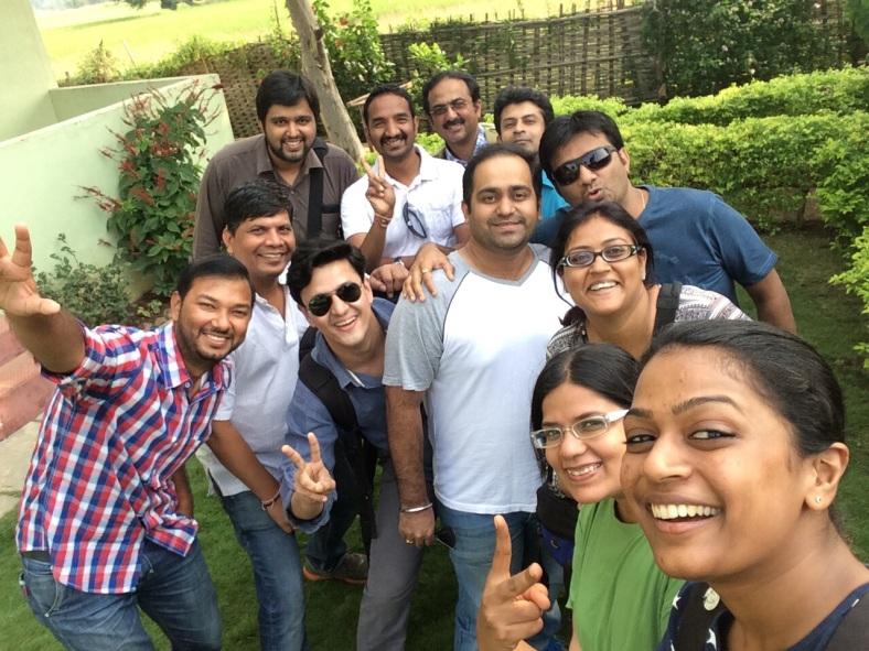 my group at Mumbai Travellers