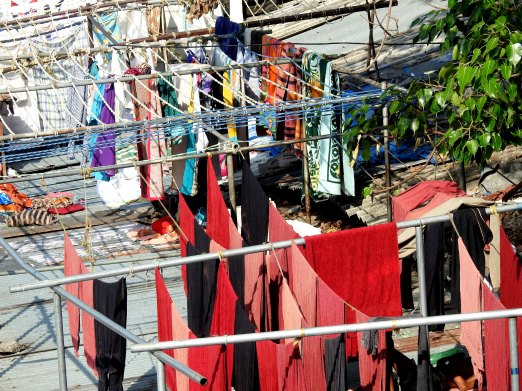 Colors at Dhobi Ghat