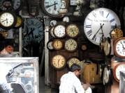 Clock store at Chor bazaar